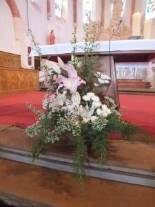 Déco florale-Saint-Sulpice